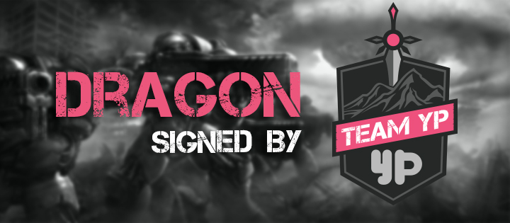Team YP - SC2 Dragon banner
