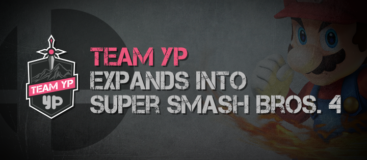 Smash Bros - press banner
